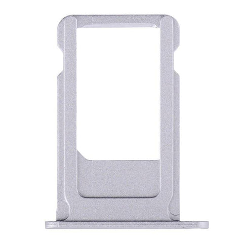 Image of New Original iPhone 6S Plus 5.5 SIM Card Tray Holder with Eject Tool - Silver - SIM Card Tray