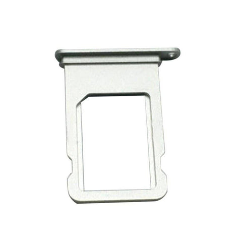 Image of New iPhone 7 SIM Card Tray Holder Replacement with Eject Tool - Silver - SIM Card Tray