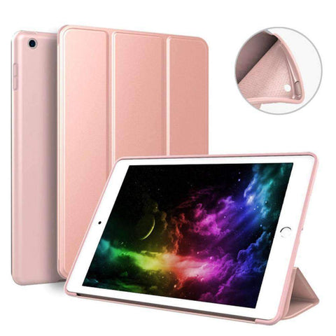Soft Silicone Back Cover Magnetic Smart Sleep Awake Leather Case for Apple iPad Mini 5 A2125 A2126 - Accessories