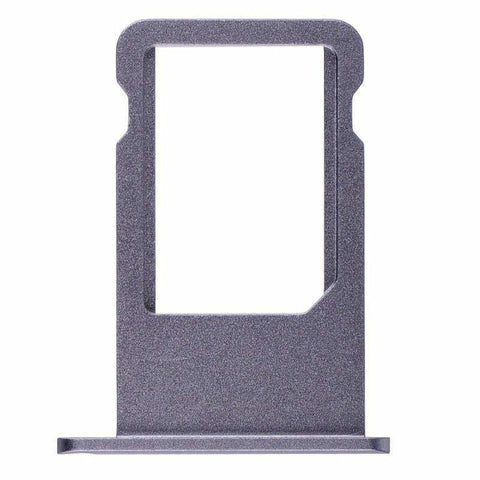 Image of New Original iPhone 6S Plus 5.5 SIM Card Tray Holder with Eject Tool - Space Grey - SIM Card Tray