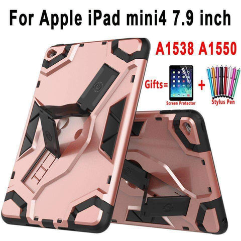 Image of Tablet Armor Silicone Cover Case for Apple iPad mini 4 A1538 A1550 - Accessories