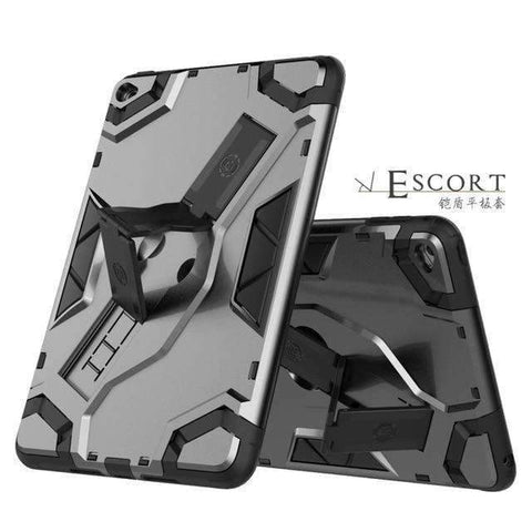Tablet Armor Silicone Cover Case for Apple iPad mini 4 A1538 A1550 - Black - Accessories