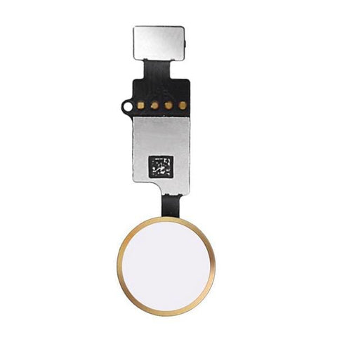 Image of Universal YF Home Button Flex Cable for the iPhone 7 / 7 Plus / 8 / 8 Plus - Home Button