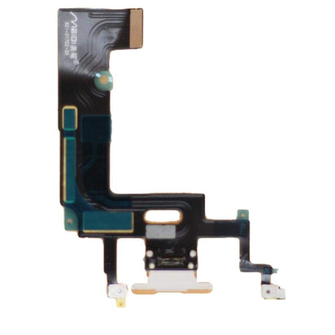 Image of White Charging Charge Port Lightning Connector for iPhone XR A1984 A2106 A2108