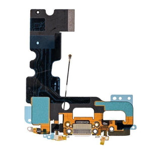 New iPhone 7 4.7 Charging Dock Port Assembly Flex Cable - White - Charge Ports