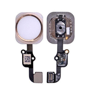 New White Home Button flex cable Assembly for the iPhone 6S and 6S Plus - Home Button