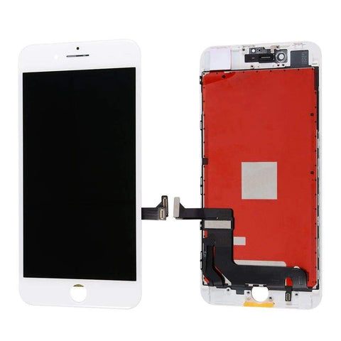 Image of White LCD Touch Screen Digitizer Assembly for iPhone 8 Plus A1864 A1897 - LCDs & Digitizers