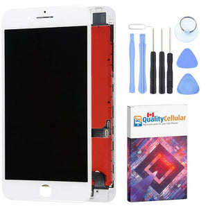 White LCD Touch Screen Digitizer Assembly for iPhone 8 Plus A1864 A1897 A1898 - LCD's & Digitizers
