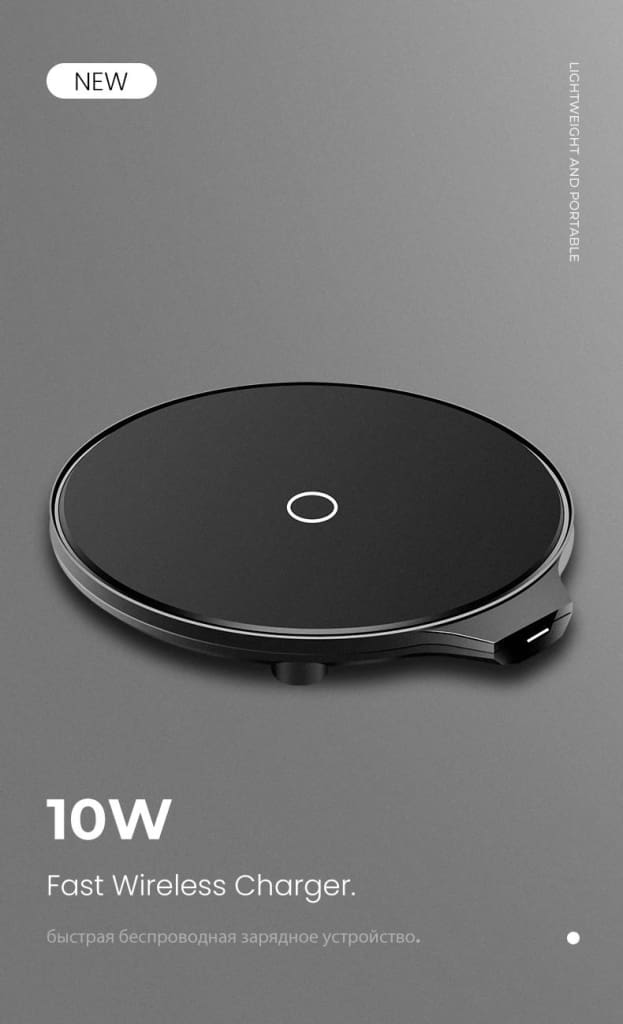 Qi Fast Wireless Charger 10W/7.5W QC 3.0 for iPhone 11 X XR XS Max Samsung Pic1