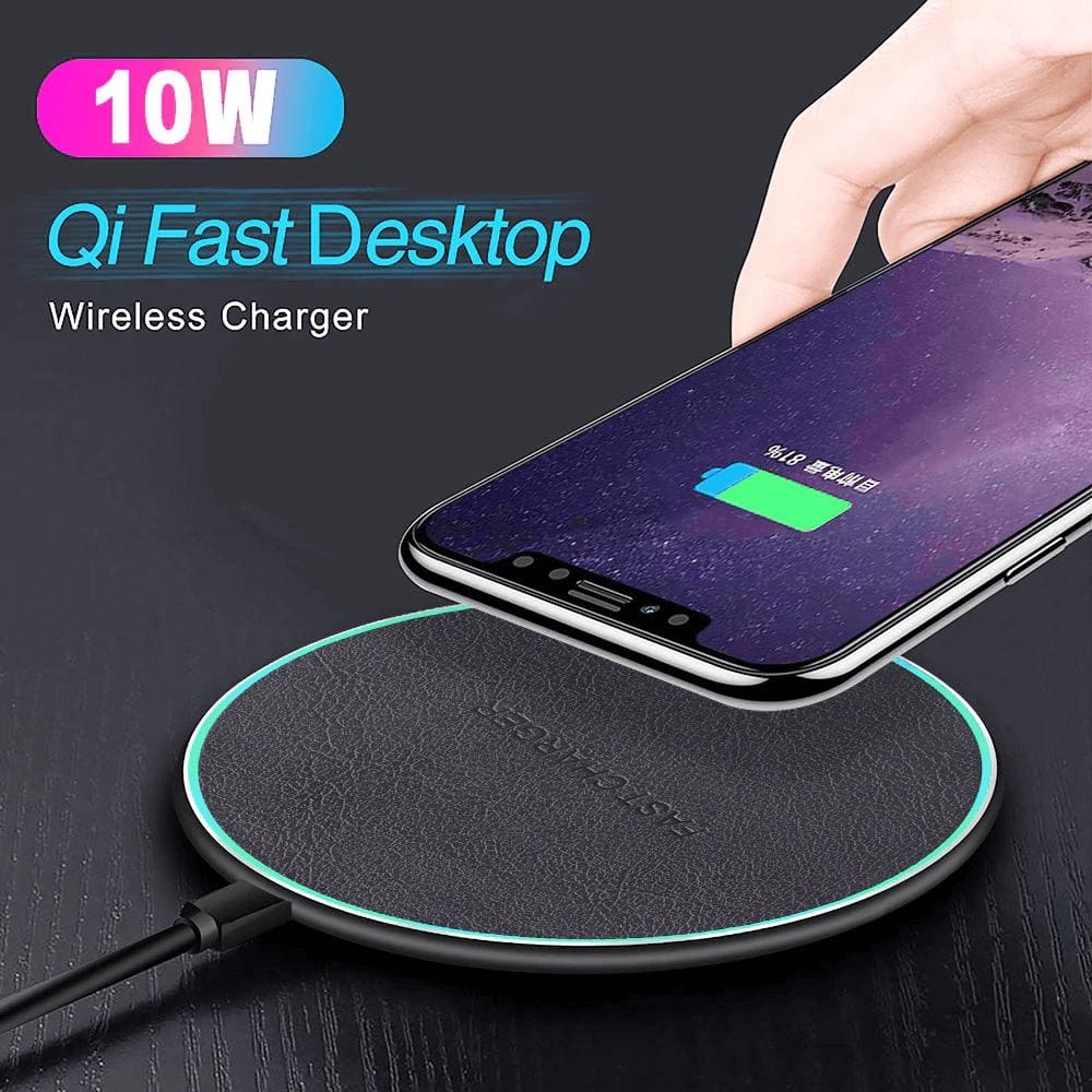 QI Wireless Charger 10W for iPhone X 8 Plus XR XS Max For Samsung S8 S9 S10 Pic1