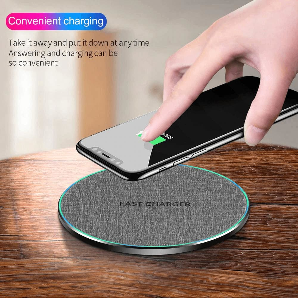 Fast Charging 10w Qi Wireless Charger iPhone 11 Pro XS XR X 8 Airpods Samsung Pic1