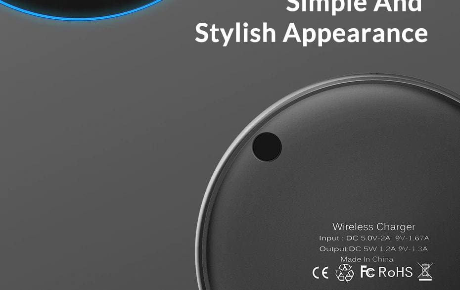 Wireless Fast Charger 10W Charging Pad for iPhone X Xs Max 8 Plus Samsung Note 9 Pic12