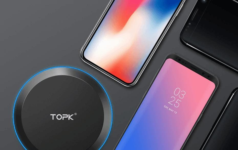 Wireless Fast Charger 10W Charging Pad for iPhone X Xs Max 8 Plus Samsung Note 9 Pic15