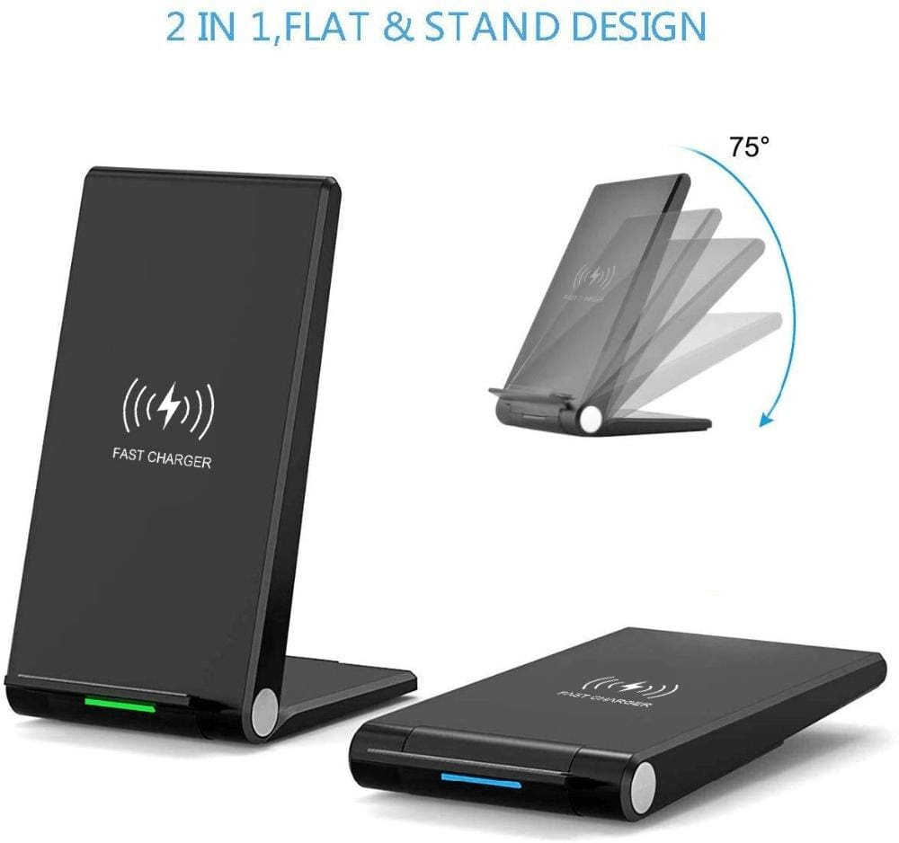 15W Fast Qi Wireless Charger For iPhone 11 Pro Max XS XR X 8 Samsung S10 S9 Pic4