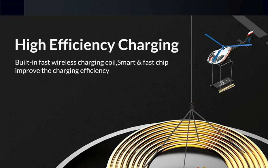 Wireless Fast Charger 10W Charging Pad for iPhone X Xs Max 8 Plus Samsung Note 9 Pic3