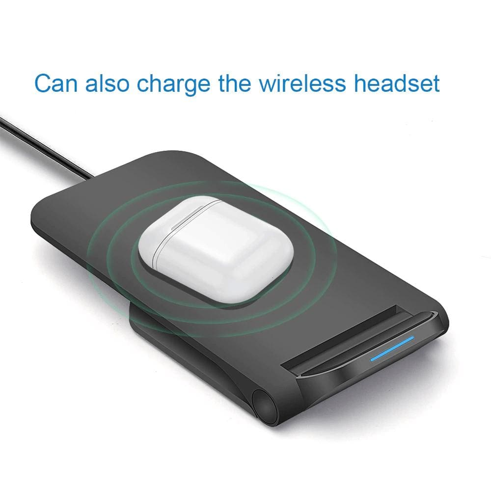 15W Qi Fast Wireless Charger for iPhone 11 Pro 8 X XR XS Max Airpods Samsung Pic5