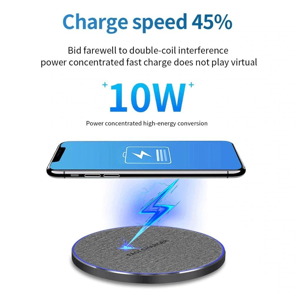 Fast Charging 10w Qi Wireless Charger iPhone 11 Pro XS XR X 8 Airpods Samsung Pic5