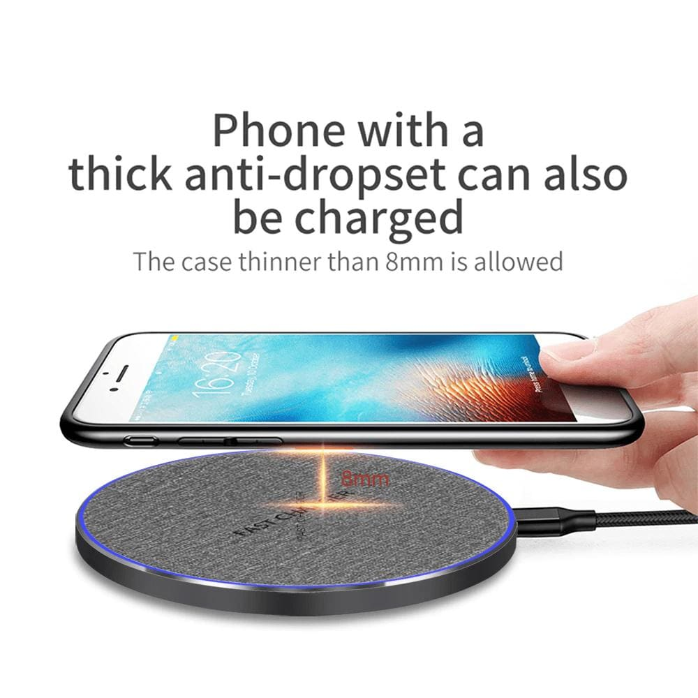 Fast Charging 10w Qi Wireless Charger iPhone 11 Pro XS XR X 8 Airpods Samsung Pic6