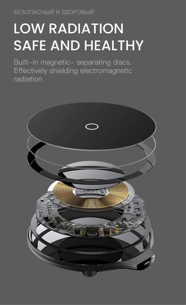 Qi Fast Wireless Charger 10W/7.5W QC 3.0 for iPhone 11 X XR XS Max Samsung Pic7