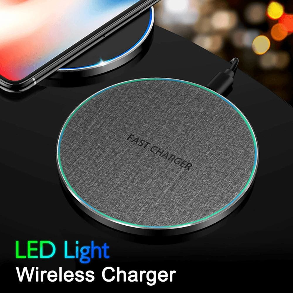 15W Qi Fast Wireless Charger iPhone 11 Pro XS Max X XR Samsung S10 S9 Note 10 9 Pic8