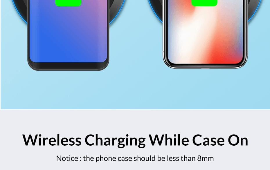 Wireless Fast Charger 10W Charging Pad for iPhone X Xs Max 8 Plus Samsung Note 9 Pic7