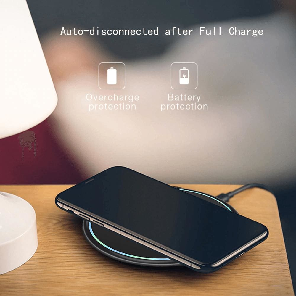 10W Qi Fast Wireless Charger For Samsung Galaxy S10 S9 S8 Plus Note 10 9 iPhone Pic9