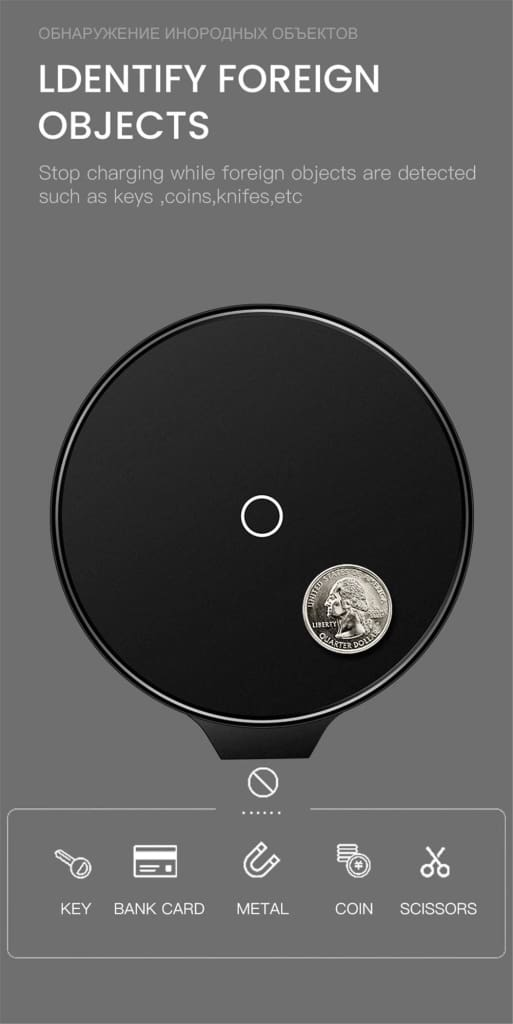 Qi Fast Wireless Charger 10W/7.5W QC 3.0 for iPhone 11 X XR XS Max Samsung Pic10