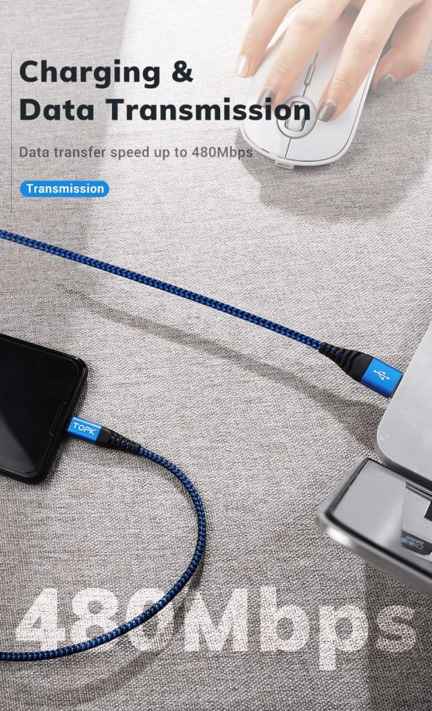 Premium Quality Type C Fast Charging Cable for Samsung S9 S10 Plus note 7 8 10