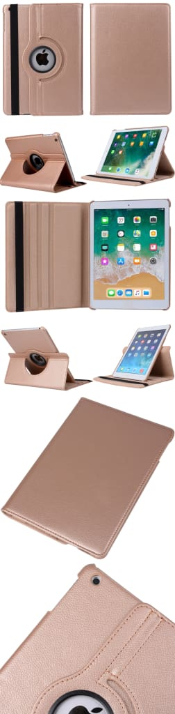 360 Degree Rotating Leather Smart Shell Cover Case for Apple iPad mini 5 A2133 A2124 A2125 A2126