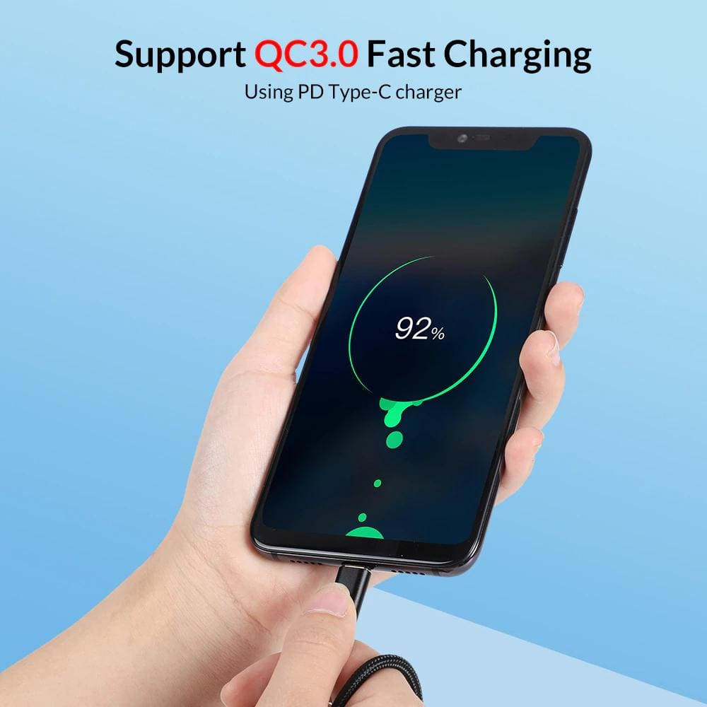 Type C USB Cable AN80 60W 3A QC3.0 Fast Charging Data SyncType C USB Cable AN80 60W 3A QC3.0 Fast Charging Data Sync Pic5
