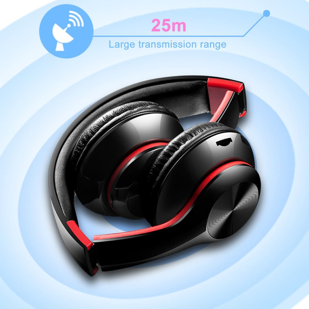 TWS Headphones for Computer Gaming Headset HIFI 5.0 Stereo Bluetooth Earphones Music Headset FM and Support SD card With mic