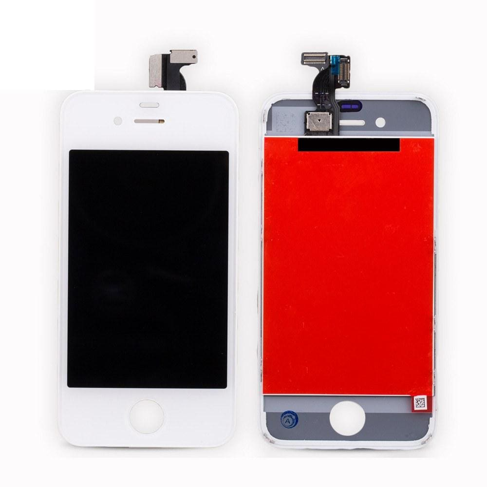 iPhone 4 (GSM) A1332 White LCD Pic1
