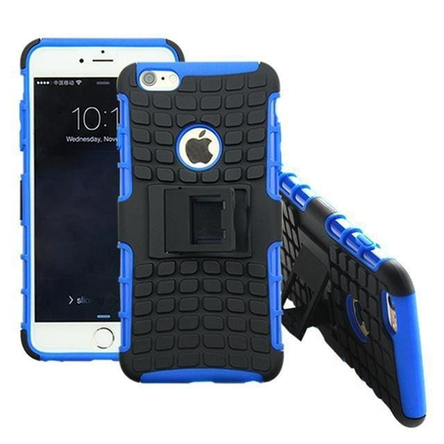 iPhone 6 / 6S Heavy Duty Armor Phone Case Cover with Stand