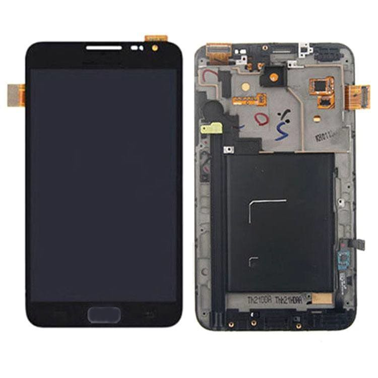 Samsung Galaxy Note 1 LCD with Frame Black Pic1