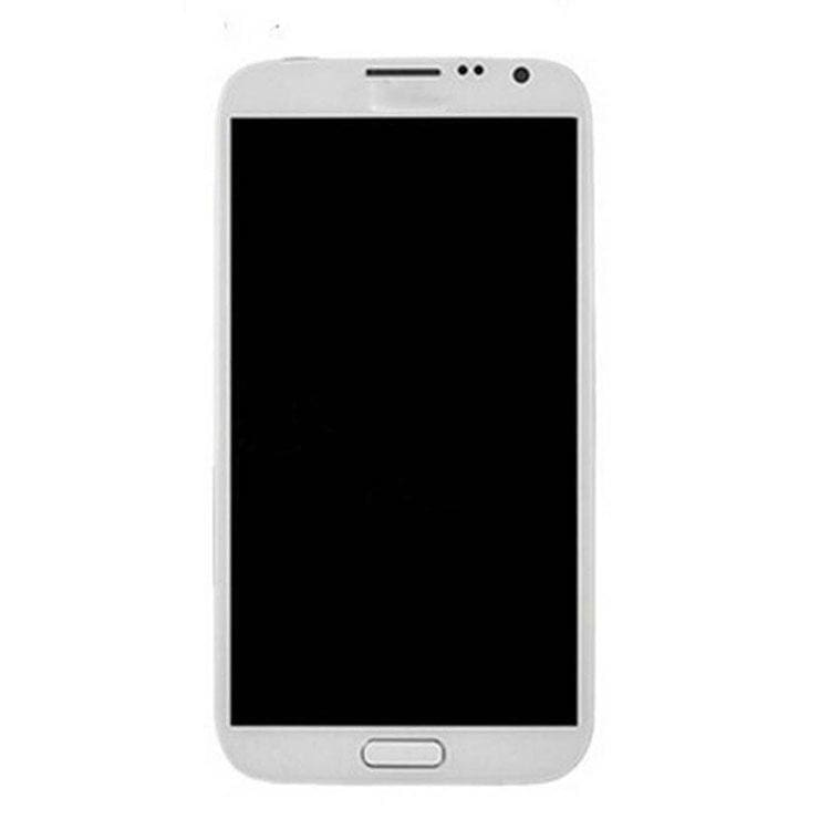 Samsung Galaxy Note 1 LCD with Frame White Pic2
