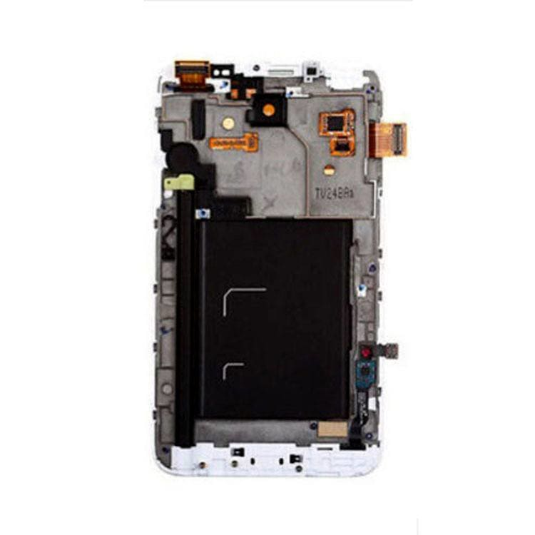 Samsung Galaxy Note 1 LCD with Frame White Pic3