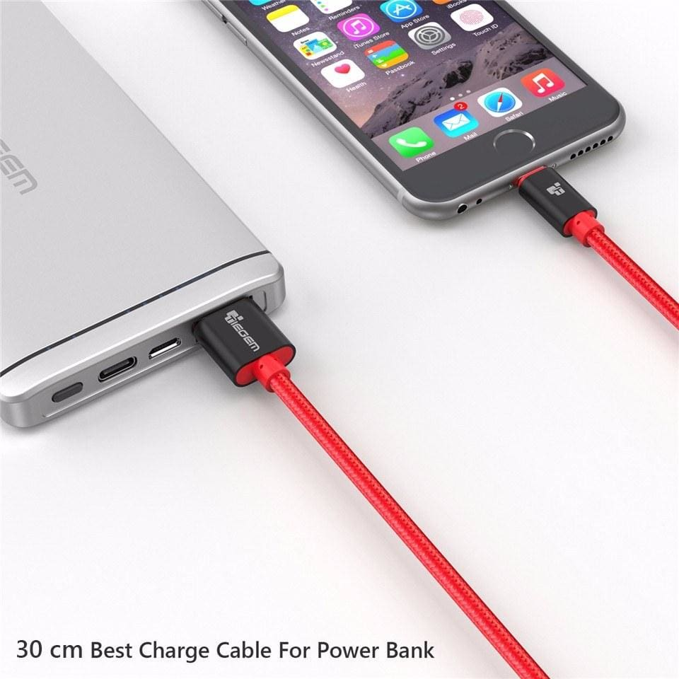 Original TIEGEM Heavy Duty Fast Charging 8 Pin USB Lightning Cable
