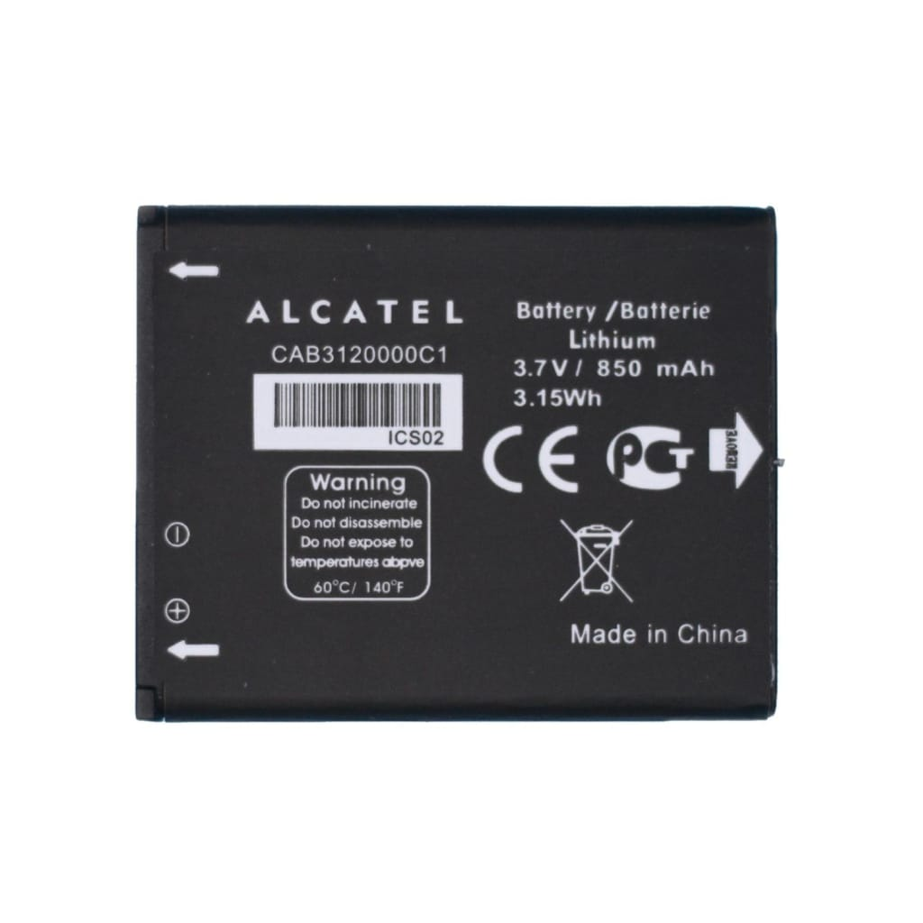 Original Alcatel CAB3120000C1 Battery for 510A OT-800 OT-880A OT-710D OT-768T Pic0