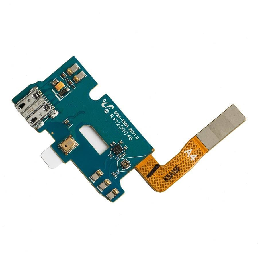 Charging port flex cable and microphone for Samsung Galaxy Note 2 II SGH-T889 Pic1