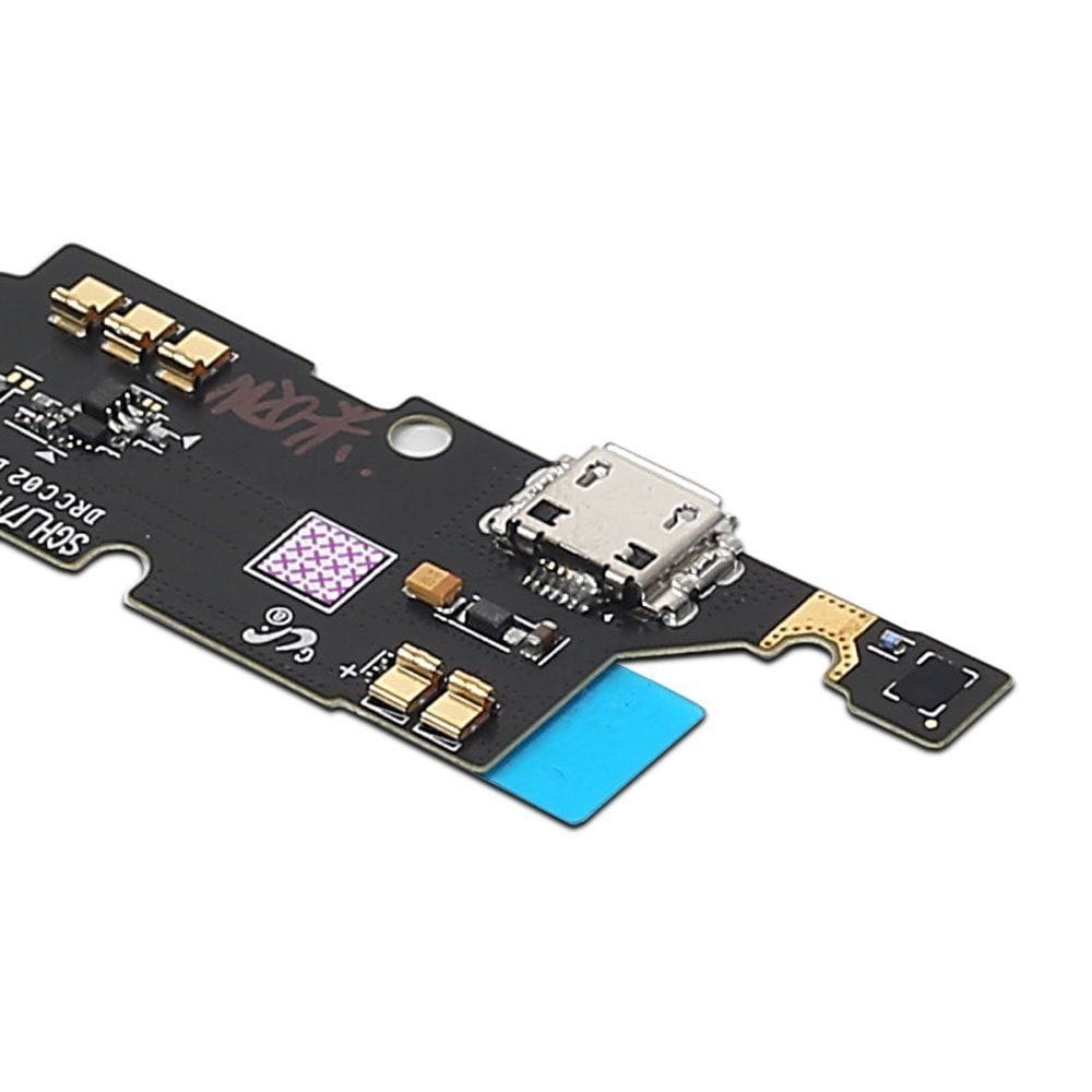 Charging port flex cable and microphone for Samsung Galaxy Note 1 SGH-I717 Pic2