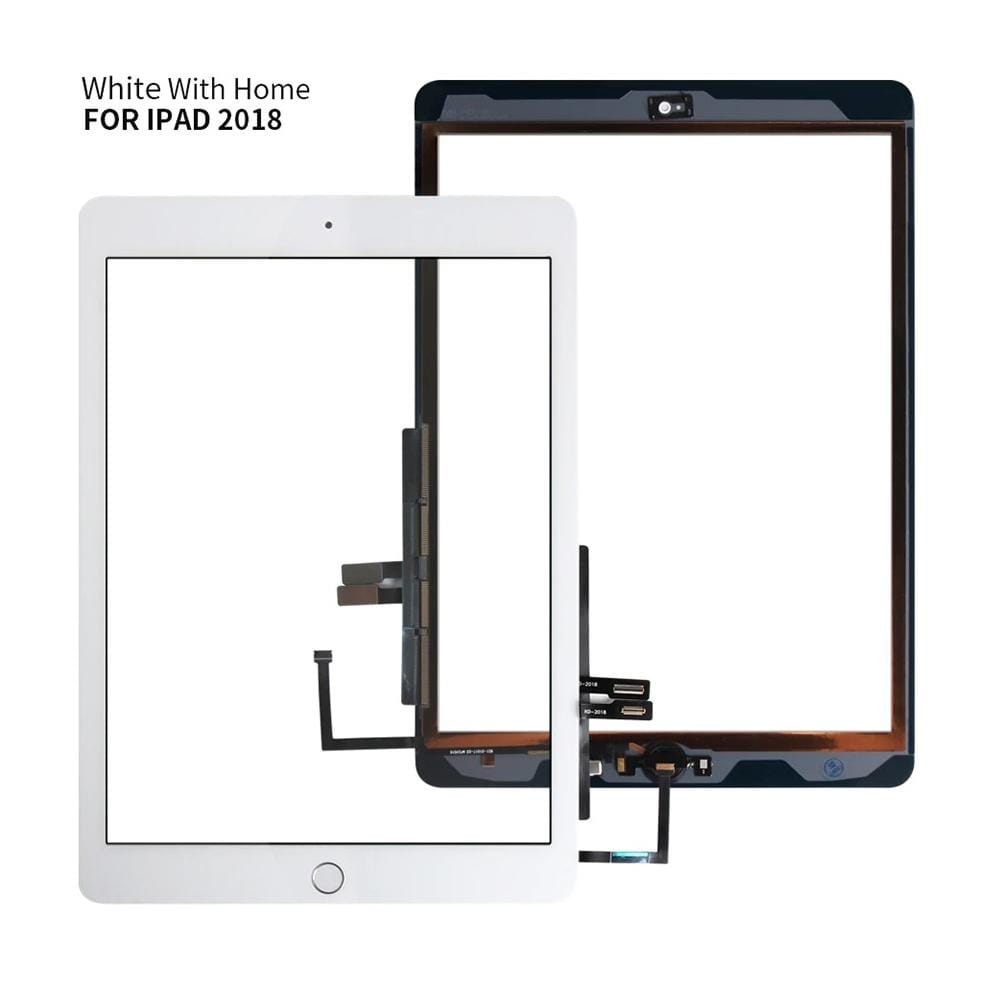 Touch Screen Digitizer for iPad 6th Generation (2018) A1893 A1954 Black / White Pic2