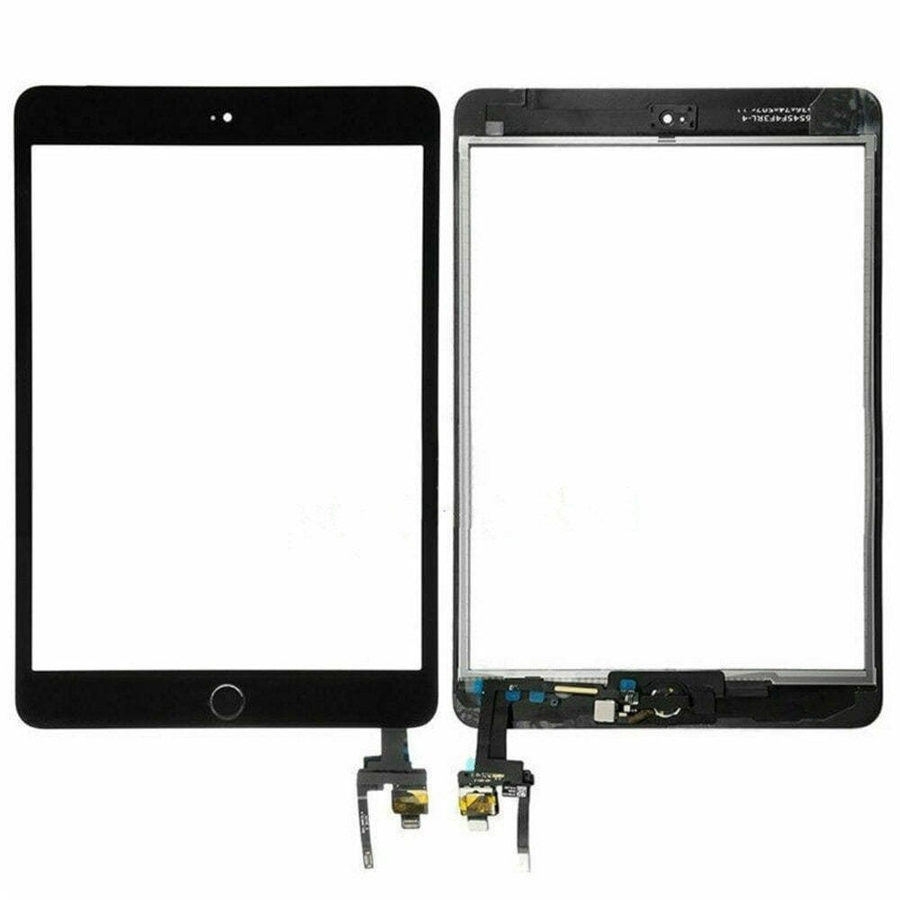 Touch Screen Digitizer + IC Connector for iPad Mini 3 A1599 A1600 Black / White Pic4