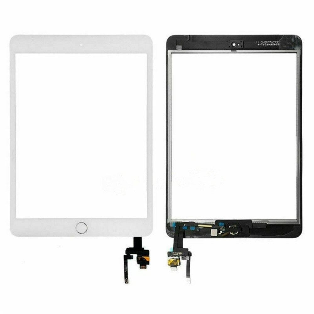 Touch Screen Digitizer + IC Connector for iPad Mini 3 A1599 A1600 Black / White Pic5
