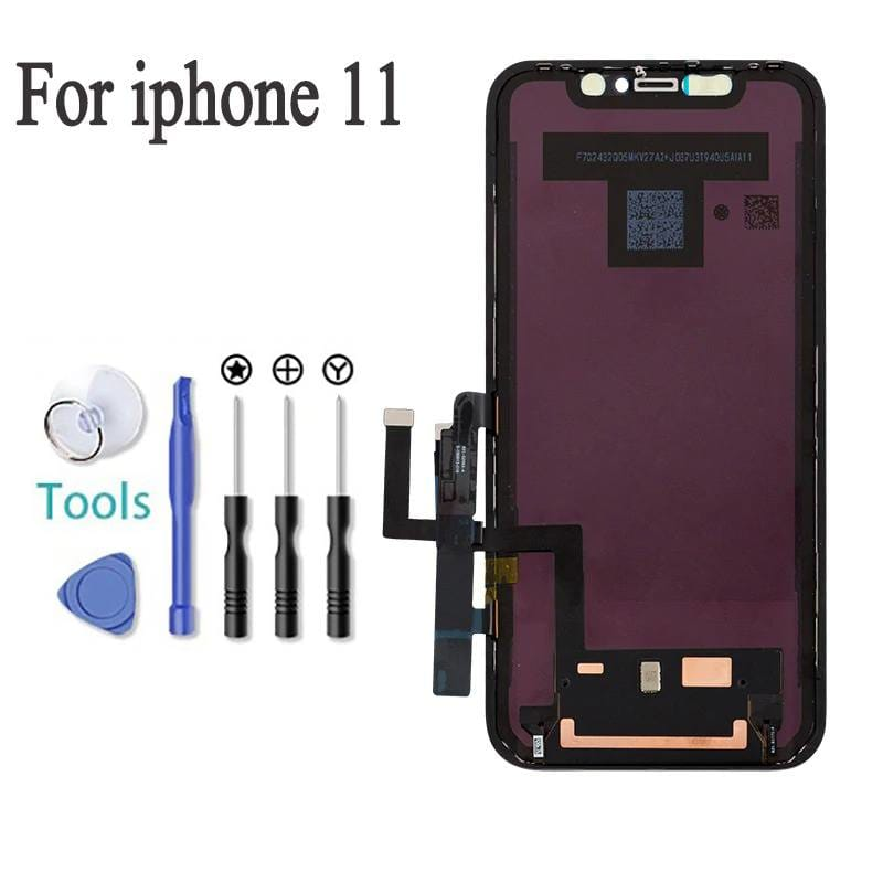 Black LCD Touch Screen Digitizer Screen Assembly for iPhone 11 A2111 A2221 A2223 Pic4