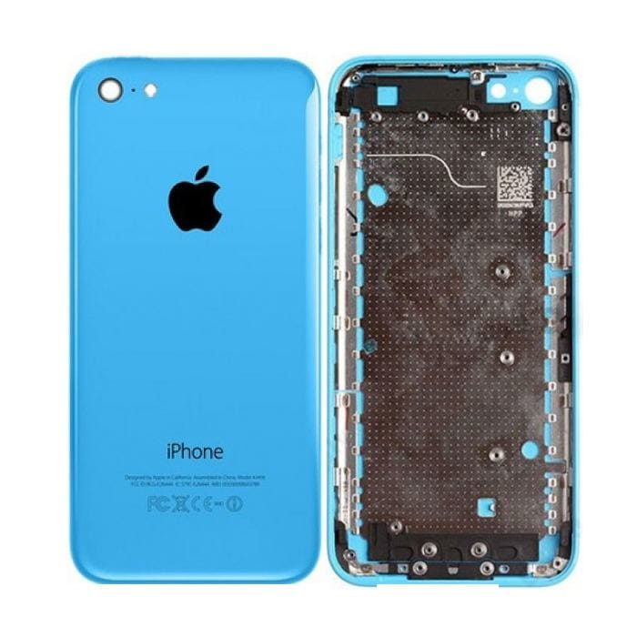 Blue Back Housing Mid Frame Assembly iPhone 5C A1456 A1507 A1516 A1529 A1532 Pic0