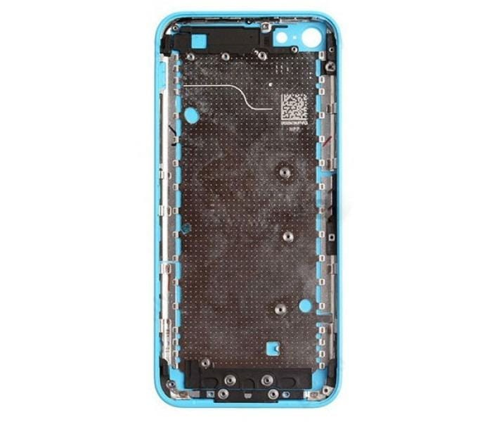 Blue Back Housing Mid Frame Assembly iPhone 5C A1456 A1507 A1516 A1529 A1532 Pic1