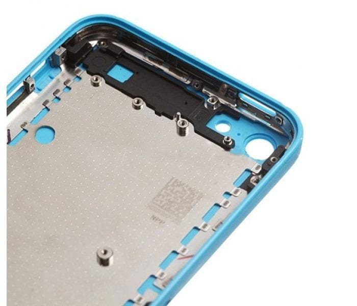 Blue Back Housing Mid Frame Assembly iPhone 5C A1456 A1507 A1516 A1529 A1532 Pic3