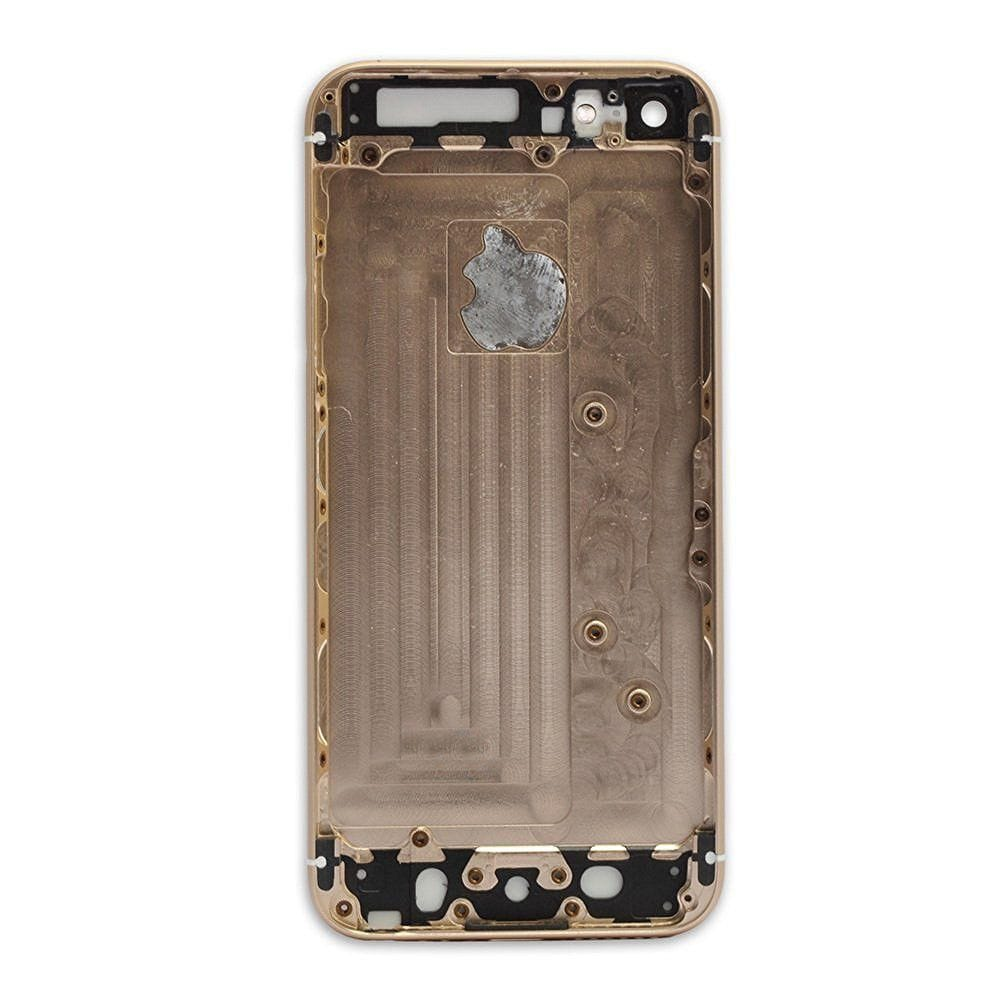 Gold Back Housing Mid Frame Assembly Replacement for iPhone 6 A1549 A1586 A1589 Pic2