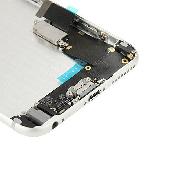 Silver Back Housing Mid Frame Assembly + Parts iPhone 6 Plus A1522 A1524 A1593 Pic5