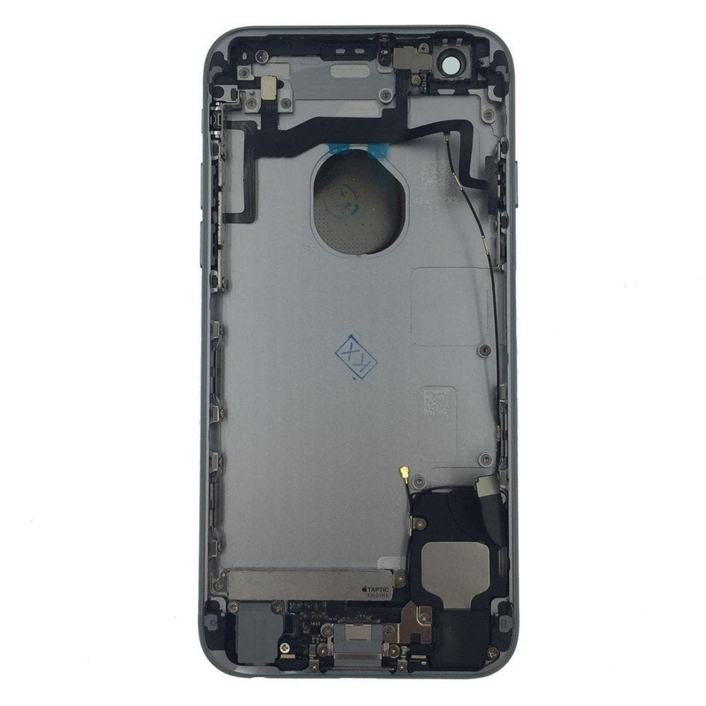 Space Gray Back Housing Mid Frame Cables, Parts for iPhone 6S A1633 A1688 A1700 Pic1